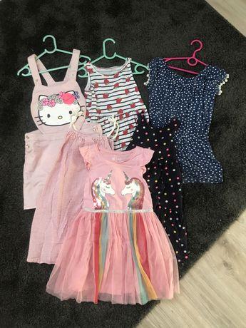 Mega paka ubran dla dziewczynki 122-134