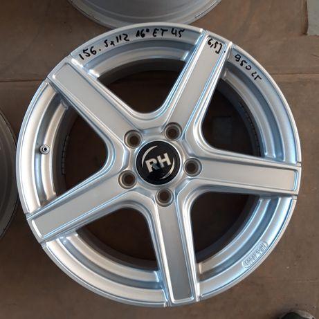 156 Felgi Aluminiowe R16 5x112 AUDI VOLKSWAGEN SKODA Seat IDEALNE