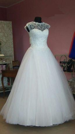 Suknia ślubna Antra - ładna, subtelna , rozmiar 36 - polecam