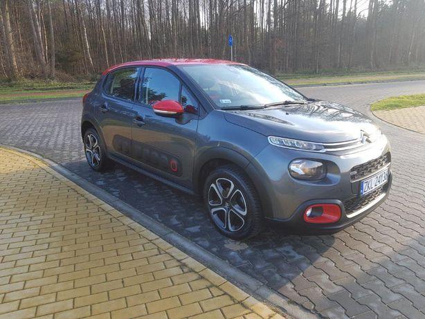 Citroën C3 Pierwszy Właściciel, ASO, 31 tyś km. Jak NOWY