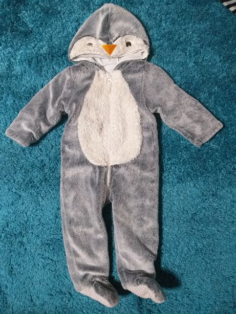 Тёплый костюм, комбинизон пингвин