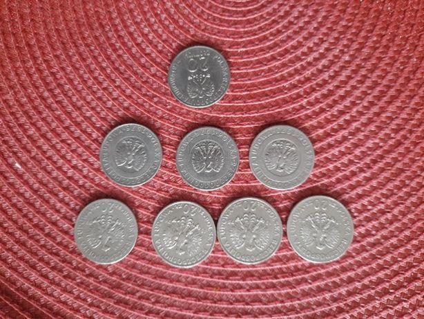 monety 20 złotowe PRL