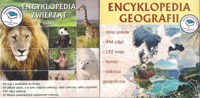Encyklopedia geografii + zwierząt ssaki