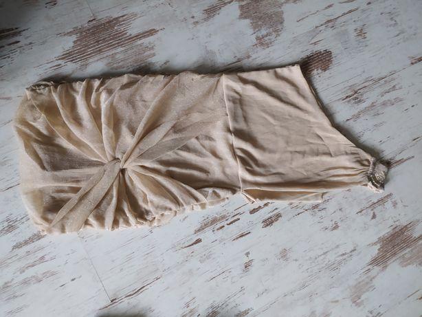 Brokatowa sukienka ASOS 36 studniówka bal