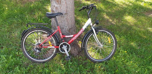 Rower damka koła 24