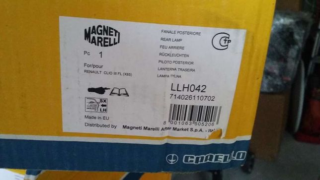 Farolim Renault Clio 3 Magneti Marelli NOVA