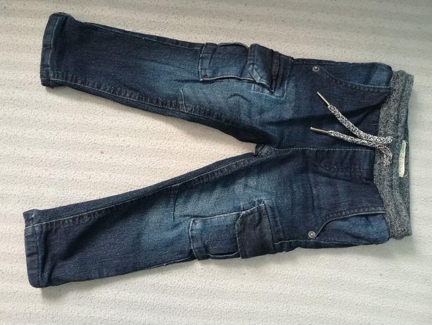 Spodnie jeans dla chłopca 2 latka