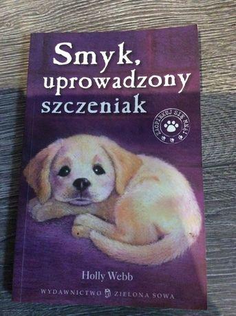 Książka dla dzieci Smyk uprowadzony szczeniak Holly Webb