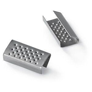 Zapinki metalowe zapinka metalowa 16mm/2500szt blaszane
