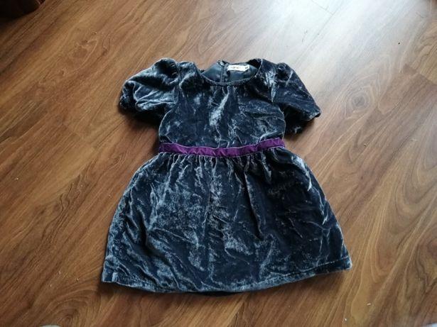 Piękna sukienka rozmiar 86 cm