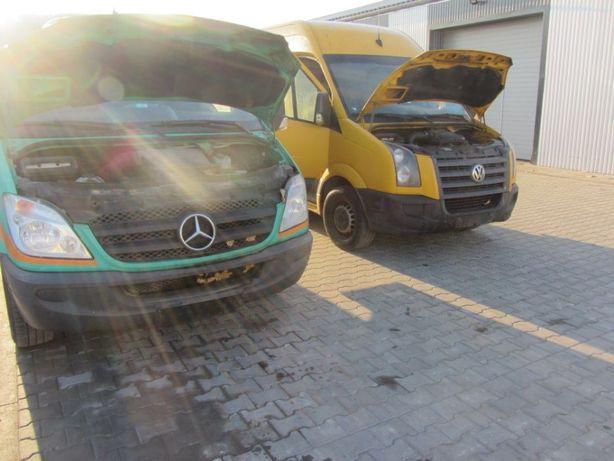 Разборка Бусов Mercedes Спринтер W906 VW Crafter Крафтер ЗАПЧАСТИ ШРОТ