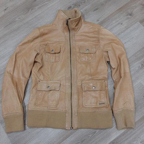 Кожаная куртка. Кожа. Куртка осень-весна