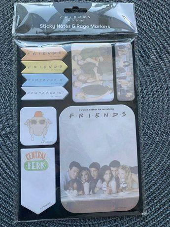 Клейкие бумажные стикеры, блокнот Friends Друзья