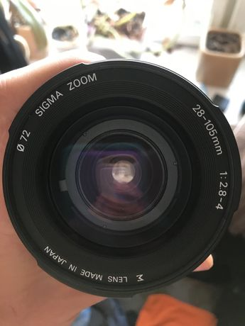 Sigma zoom 28-105 1:2.8-4 для Nikon