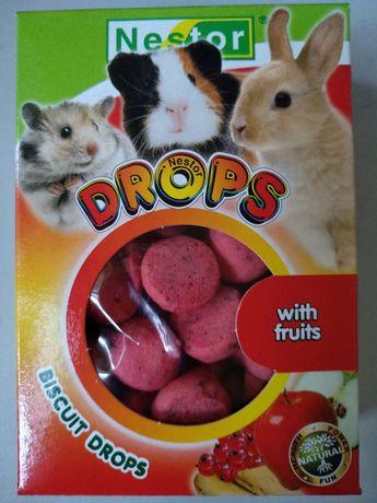 Dropsy owocowe dla gryzoni Nestor. Opakowanie 35 gram.