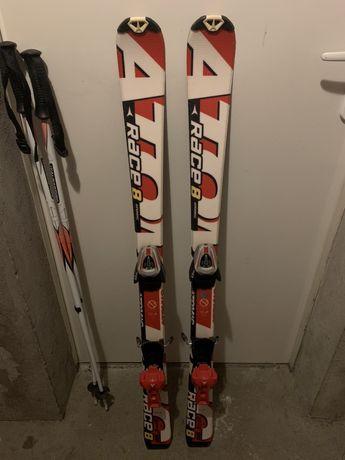 Narty+kijki ATOMIC 120 cm Race 8