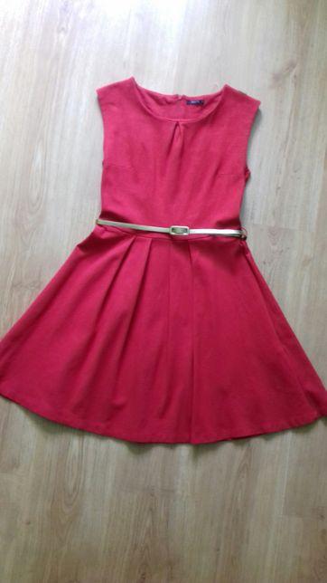 Czerwona sukienka rozmiar s