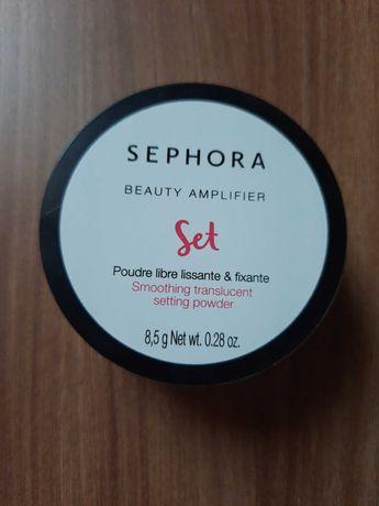 Sephora Beauty Amplifier - Sypki puder wygladzajaco-utrwalajacy