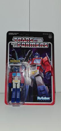 Super7 Reaction Transformers Optimus Prime