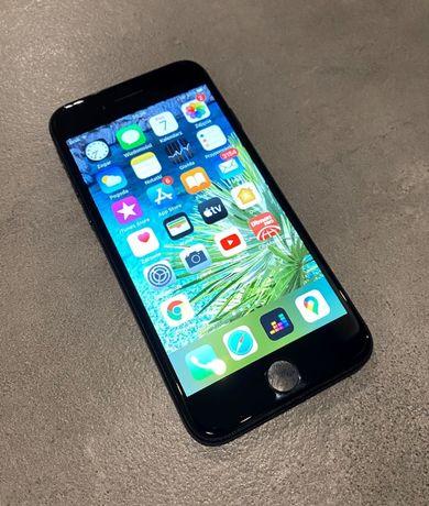 Telefon Iphone 7 128GB Jet Black z Polskiej dystrybucji