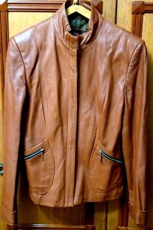 Кожаный пиджак, куртка, ветровка