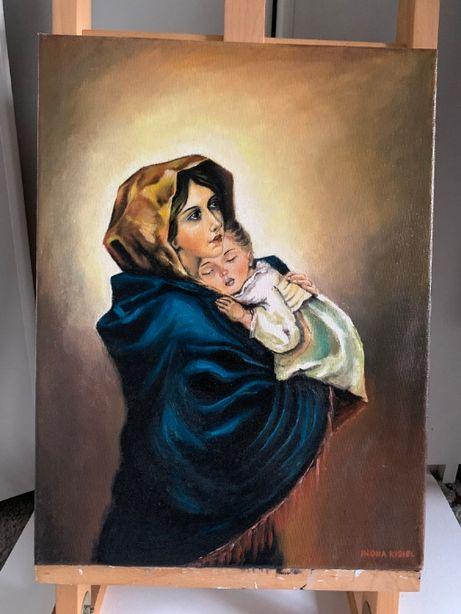 Obrazy olejne na płótnie o tematyce religijnej
