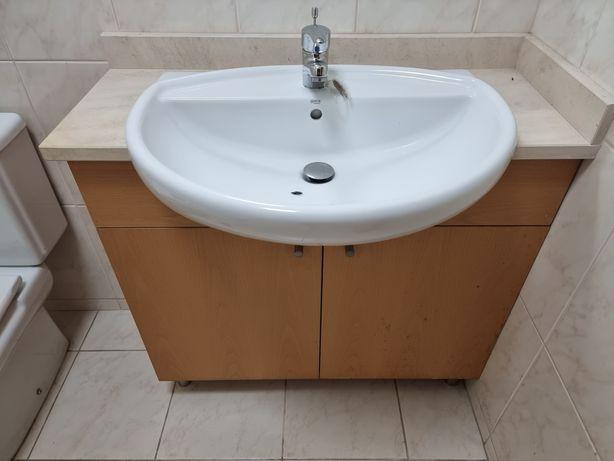 Movel WC / Casa de banho com Lavatório ROCA