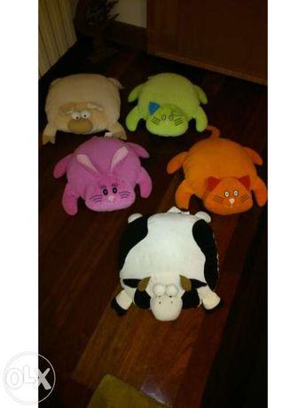 Conjunto de almofadas decorativas animais