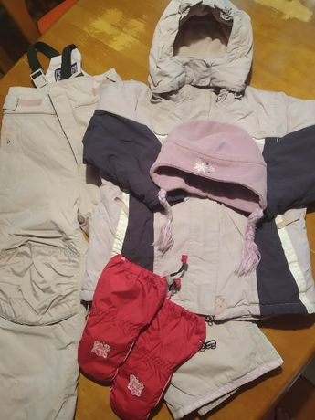 kombinezon narciarski Tchibo plus dodatki rozm.110-116
