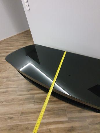 Большая стеклянная тумба подставка под телевизор