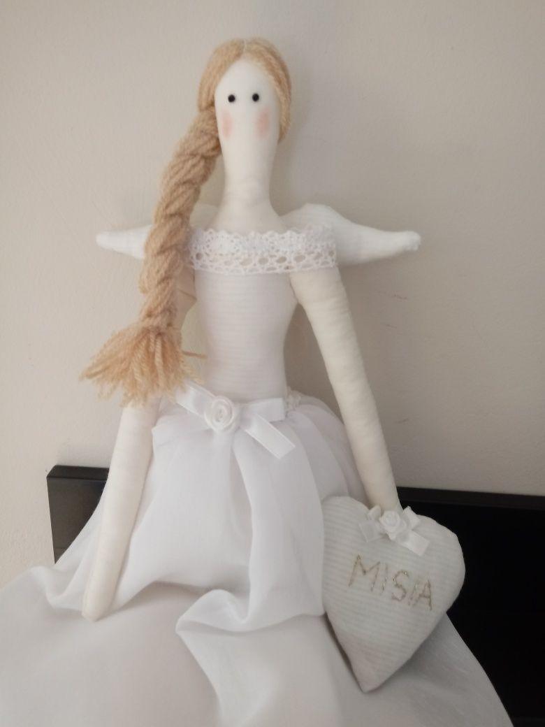 Lalka Tilda - pamiątka chrztu