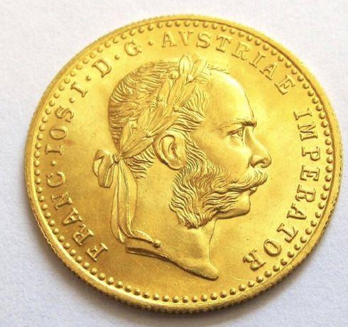 Moneta złota - Dukat Austro-Węgry 1915 r