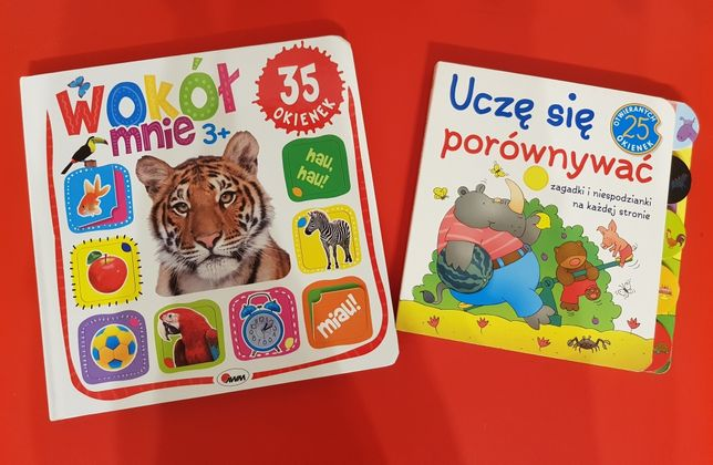 Zestaw edukacyjnych książeczek dla dziecka