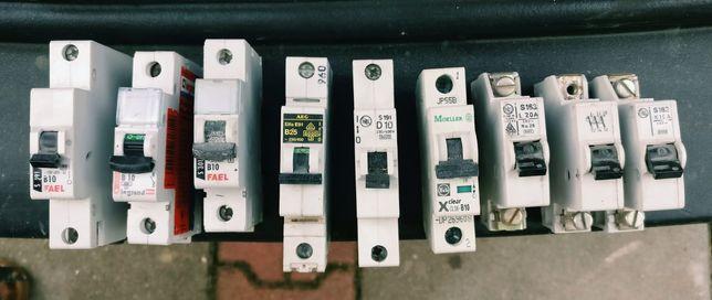 Wyłącznik prądowy, bezpieczniki automatyczne, przełącznik instalacyjny