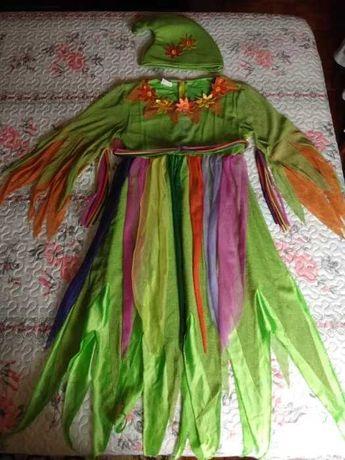 Fato Carnaval / Halloween duende como novo