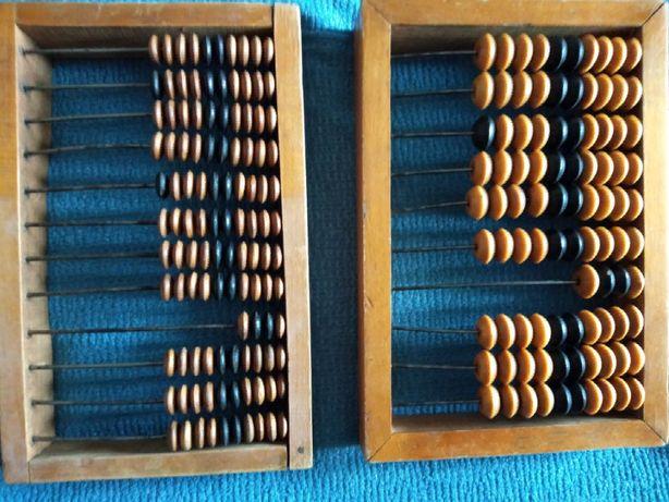 Счеты деревянные 14х22 и 15х22 см