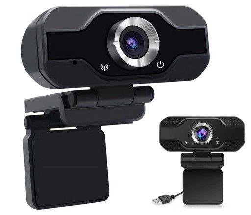 KAMERKA INTERNETOWA do lekcji / pracy zdalnej FULL HD kamera + mikrofo