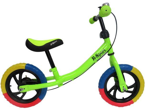Rowerek biegowy R6 R-Sport 12'' hamulec, dzwonek,