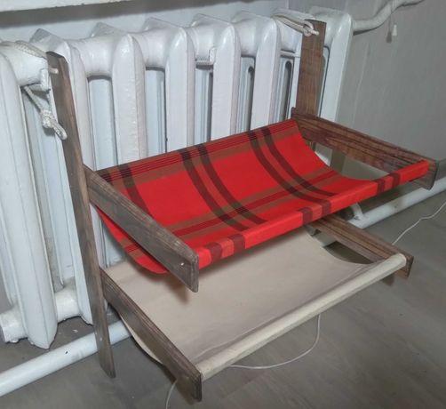 Гамак-лежак «Кітті-дубль» для котов. Два этажа. На батарею любого типа