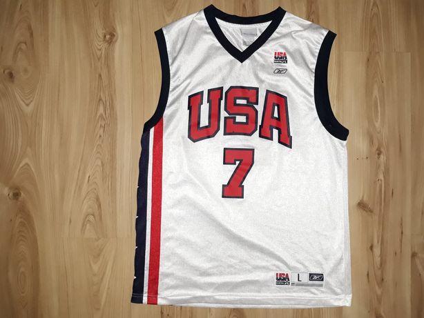 Koszulka Reebok L Jermaine O'Neal USA DREAM TEAM