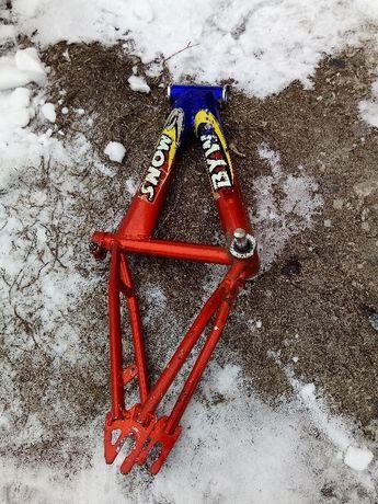рама вилка каретка детского велосипеда