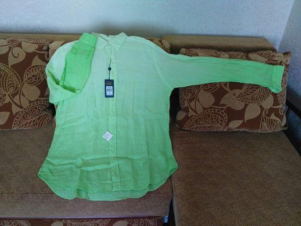 Оригинал! Новая мужская рубашка Ralph Lauren 100% лён