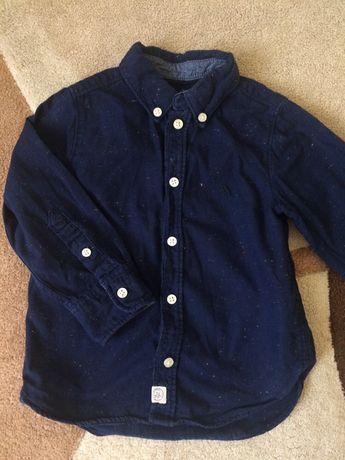 Рубашка h&m на мальчика 1,5-2 года
