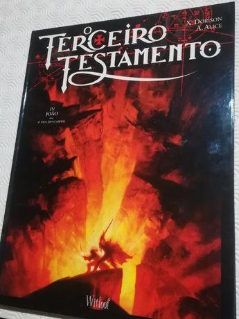Portes Grátis O Terceiro Testamento Volume 4 novo