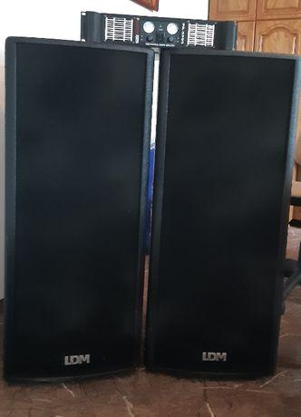 Zestaw nagłośnieniowy LDM PDP-1015 ProLINE 1000W Gemsound PA-5505