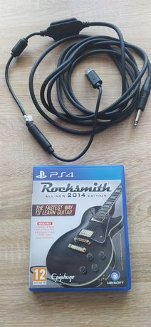 Rocksmith 2014 PS4 All-New Edition + kabel Real Tone