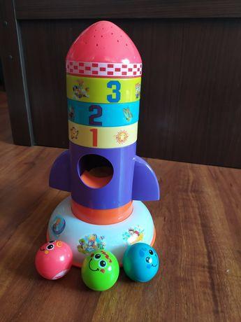 Развивающая игрушка S+S Toys Проектор Космическая ракета