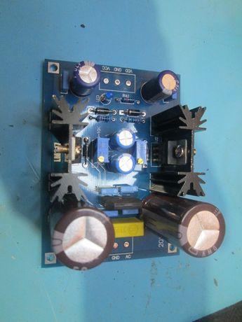 LM317 LM337 Регулируемый фильтрации Питание переменного тока/постоянно