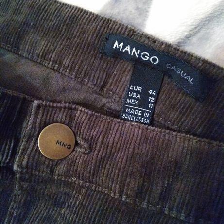 Nowa spódniczka mini sztruksowa MANGO rozm 44