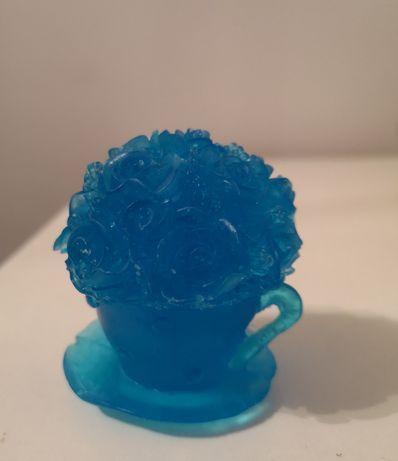 Filiżanka z kwiatami - mydełko